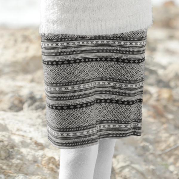 Le tailleur jupe en jacquard, une allure chic et féminine