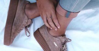 baskets femme couleur nude